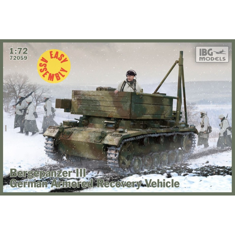 1/72 Bergerpanzer III (Easy Assembly Kit)