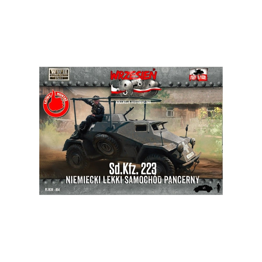 1/72 Sd.Kfz.223 German Light Armored car