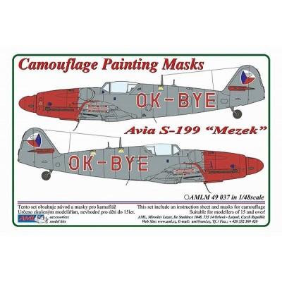 1/48 Avia S-199 Mule OK-BYE – Czech Police version