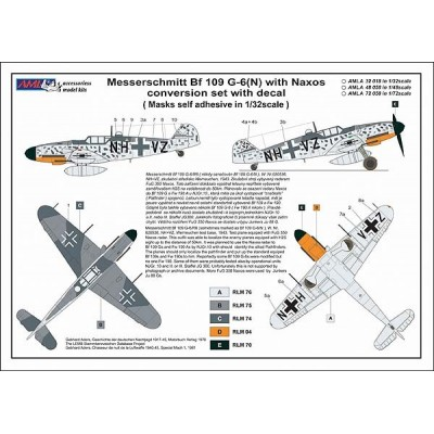 1/72 Messerschmitt Bf 109G-6 with FuG 350 Naxos