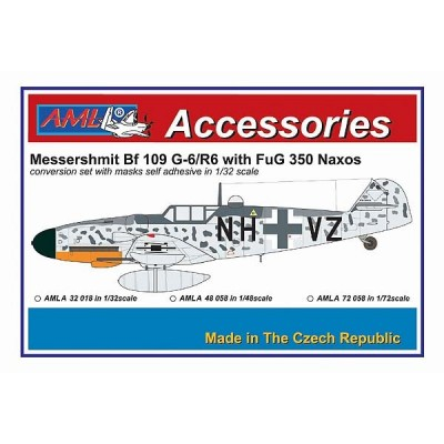 1/48 Messerschmitt Bf 109G-6 with FuG 350 Naxos
