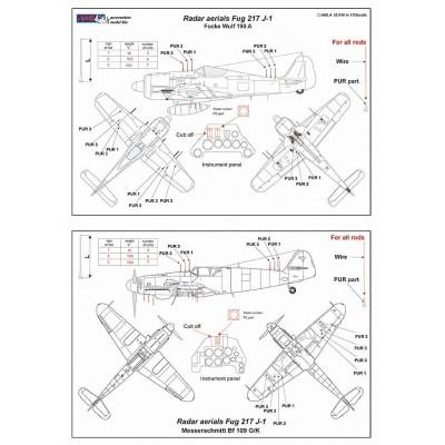 1/32 Radar Aerials FuG 217J-1