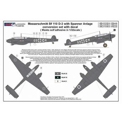 1/32 Bf 110 D-3 Spaner