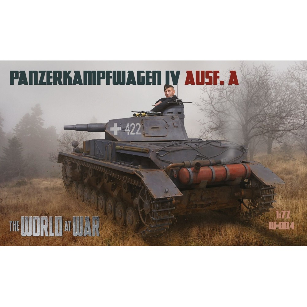 1/72 Pz.Kpfw. IVAusf. A - World At War series