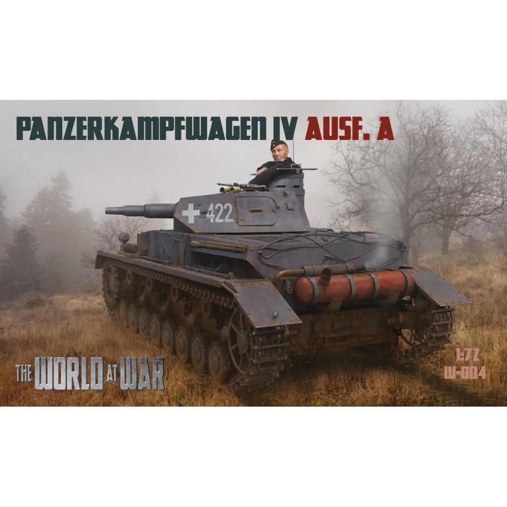 1/72 Pz.Kpfw. IVAusf. A - World At War series