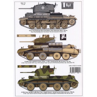 CRUISER TANKS A9 A10 A13
