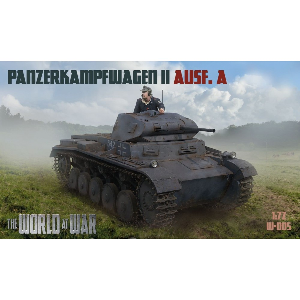 1/72 Pz.Kpfw. II Ausf. A - World At War series