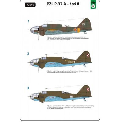 1/72 PZL.37 A – Loś A