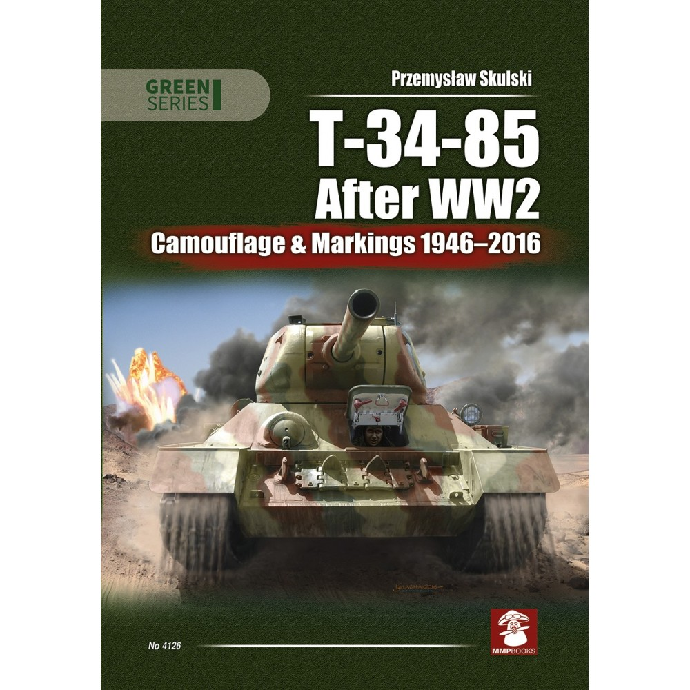 T-34/85 After WWII.Camouflage & Markings 1946-2016