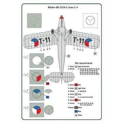 1/32 Bücker Bü 131D-2/Aero C-4 - Staff Capt.Fr.Peřina