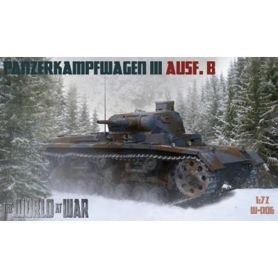 1/72 Pz.Kpfw. III Ausf. B - World At War series
