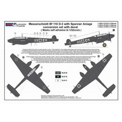1/72 Bf 110 D-3 Spaner