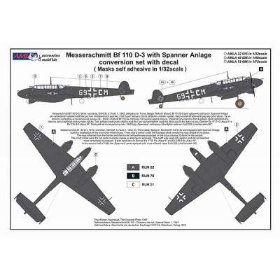 1/48 Bf 110 D-3 Spaner