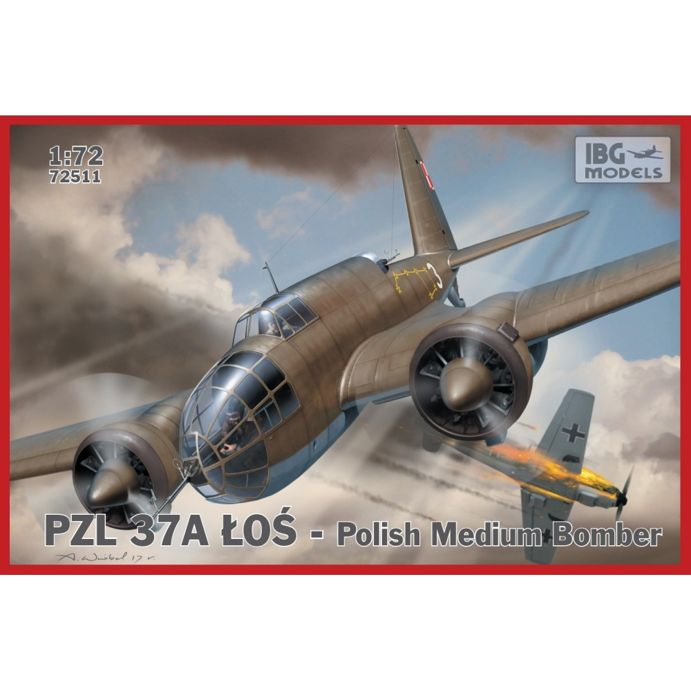 1/72 PZL.37 A LOŚ - Polish Medium Bomber
