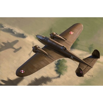 1/72 PZL.37 B I LOŚ - Polish Medium Bomber