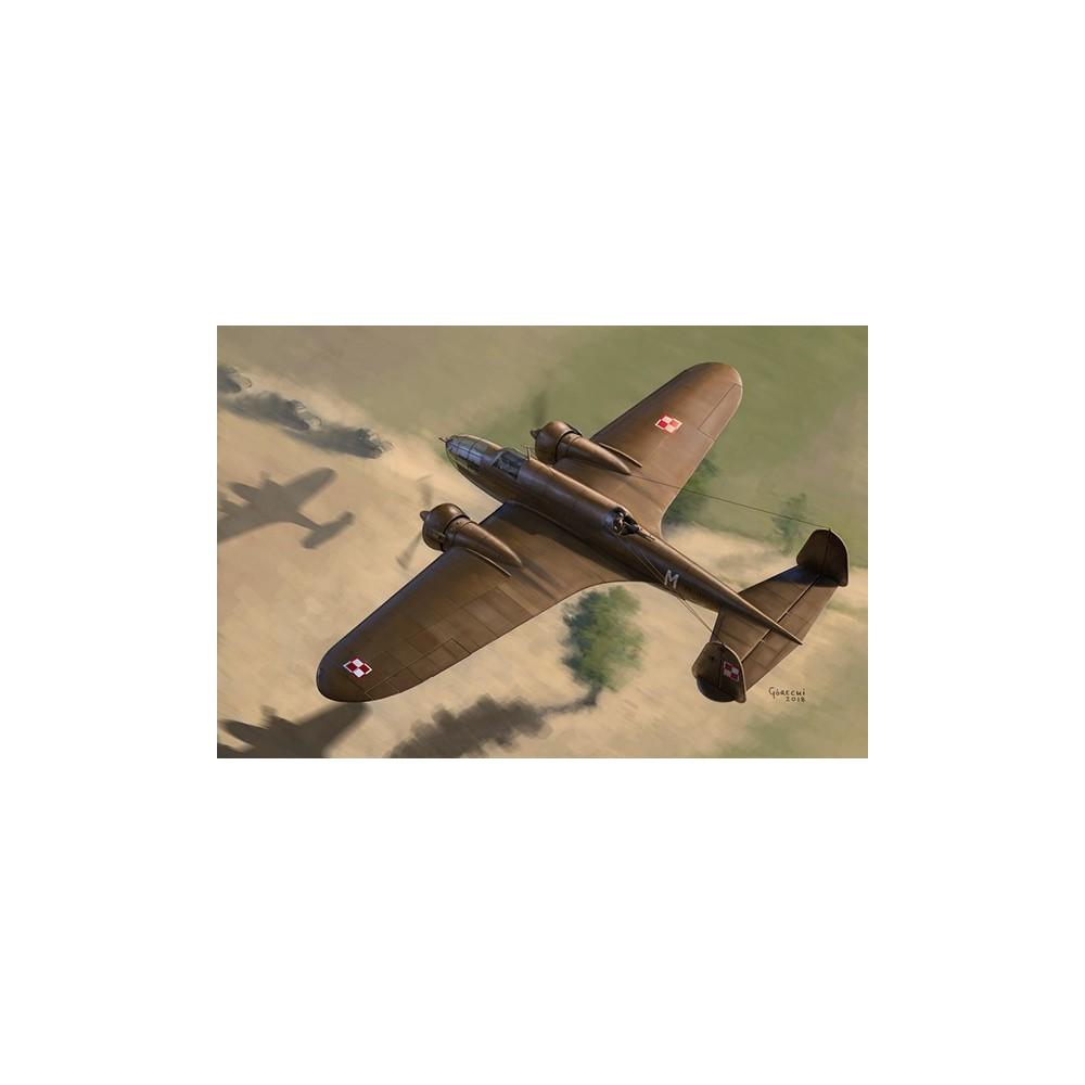 1/72 PZL.37 B I LOŚ - Polish Medium Bomber