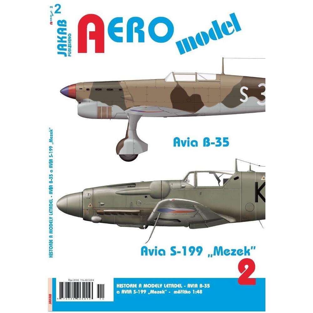 "AEROmodel č.2 Avia B-35 a Avia S-199 ""Mezek"""