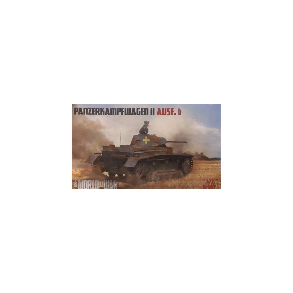 1/72 Panzerkampfwagen II Ausf.B  - World At War series