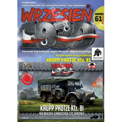 1/72 German light truck Krupp Protze Kfz. 81