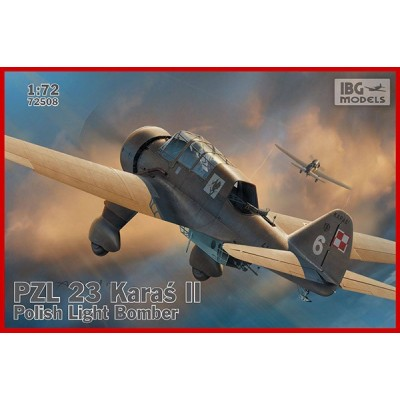 1/72 PZL.23 Karaś II Polish Light Bomber