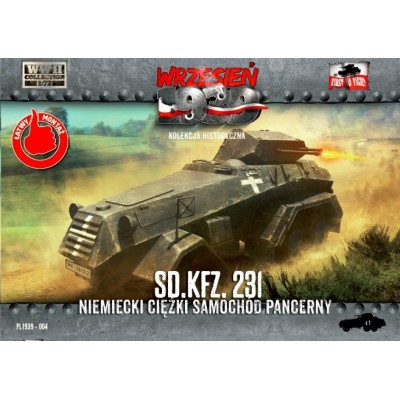 1/72 Sd.Kfz. 231 German Heavy Armored Car