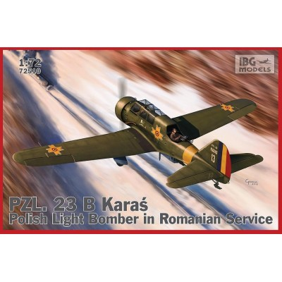 1/72 PZL.23B Karaś  Light Bomber in Romanian Service