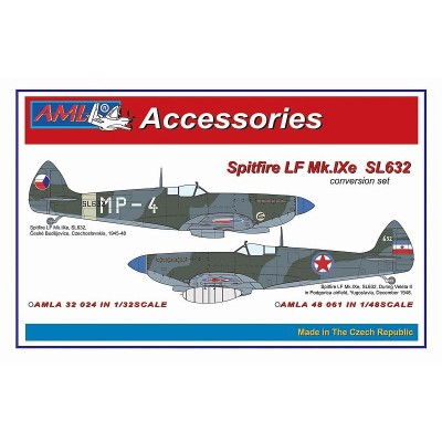 1/48 Spitfire Mk.IXe with Germany fuels – Czech AF