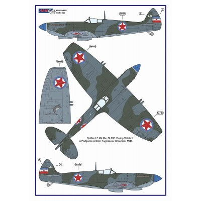 1/48 Spitfire Mk.IXe with Germany fuels – Czech AF