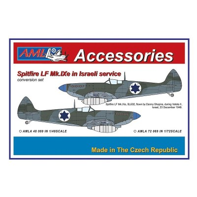 1/48 Spitfire Mk.IXe with Germany fuels - Israelian AF
