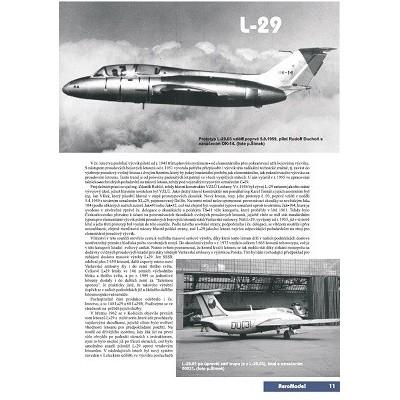 AEROmodel č.3 AviaCS-199 a AERO L-29 Delfín