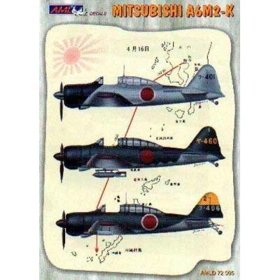 Mitsubishi A6M2 - K