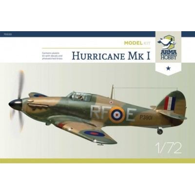 1/72 Hurricane Mk I - 303 Squadron RAF - Model Kit!