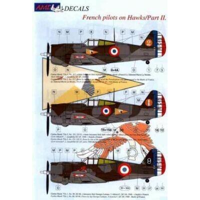 French pilots on Hawk, Part II.