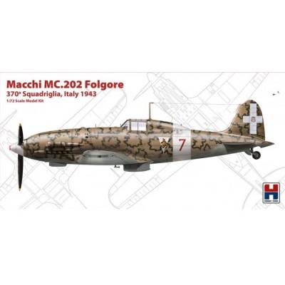 """1/72 Macchi MC.202 Folgore """"370 Squadriglia,Italy 1942"""""""