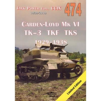 CARDEN LOYD VI TK–3 TKF TKS