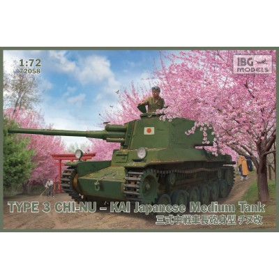 1/72 Type 3 Chi-Nu – Kai Japanese Medium Tank