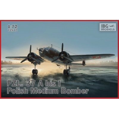 1/72 PZL.37 A bis I Łoś – Polish Medium Bomber