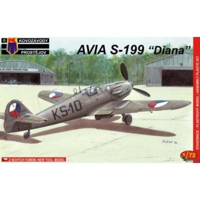 1/72 Avia S-199 'Diana' (2x camo)