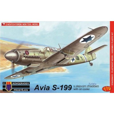 1/72 Avia S-199 with oil cooler (3x camo)