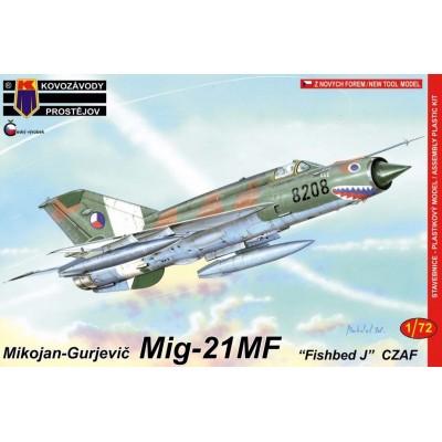 1/72 MiG-21MF 'Fishbed J' - CZAF (4x camo)
