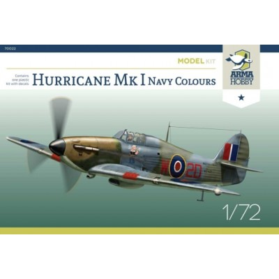 1/72 Hurricane Mk I Navy Colours