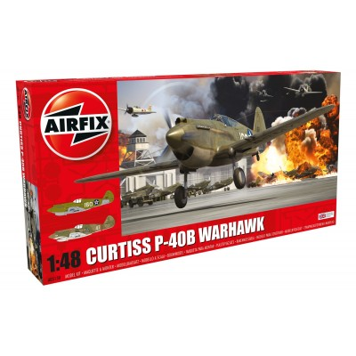 1/48 Curtiss P-40B Warhawk