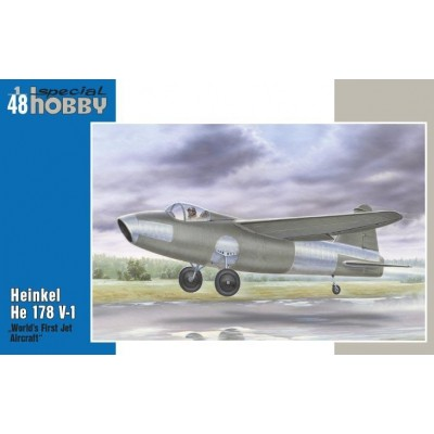 "1/48 Heinkel He178 V-1 ""World First Jet"""