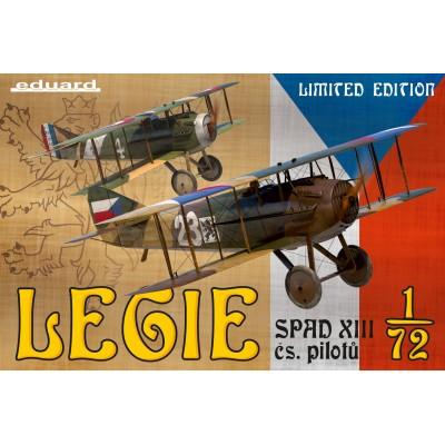1/72 SPAD XIII čs.pilotů – Legie