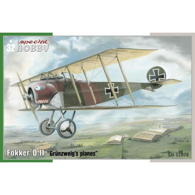 copy of 1/32 Fokker D.II