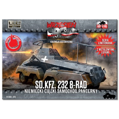 1/72 Sd.Kfz. 232 8-Rad German Heavy Armoured Car
