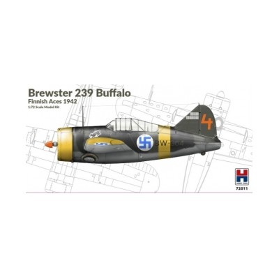 1/72 Brewster 239B Buffalo Finnish Aces 1942 - Limited...