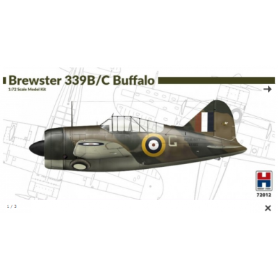 1/72 Brewster 339B/C Buffalo - Limited Edition