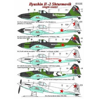 Ilyushin Il - 2 Shturmovik - Single Seater