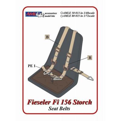1/72 Fieseler Fi 156 Storch - Seat Belts
